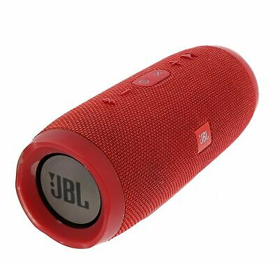 JBL Charge 3 JBLCHARGE3REDAM Portable Waterproof Speaker System Red For Parts☝