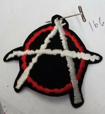 Anarchy Patch New Early 90'S Vintage Oop  Rare Collectable