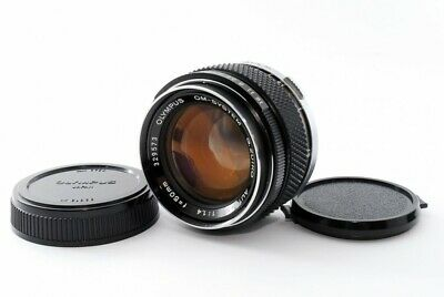 "Olympus OM-System G.Zuiko Auto-S 50mm F/1.4 MF Lens ""READ"" From Japan [4191]"