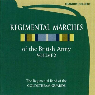 Regimental Band of the Coldstream Guards - Regimental Marches Vol2 [CD]