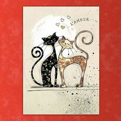 DIY Lovely Cat 5D Diamond Painting Embroidery Cross Stitch Kit Home Decoraton