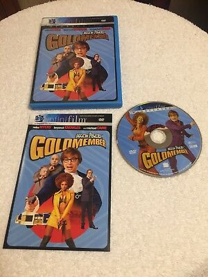 Austin Powers in Goldmember (DVD, 2002, Widescreen) Disc Case And Insert