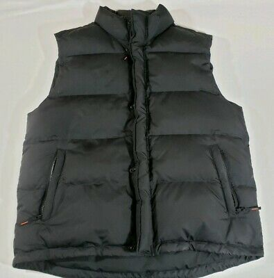 5f08560db BANANA REPUBLIC MENS Blue Puffer Down Vest Sz Medium M - $40.00 ...