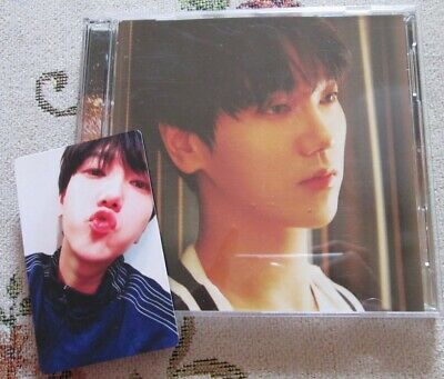 SUPER JUNIOR YESUNG Splash Aishiterutte ienai CD DVD PHOTO CARD Japan Limited