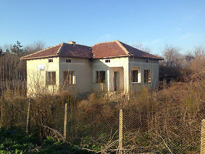 Black Sea property house real estate with big plot 25 km to the sea Bulgaria