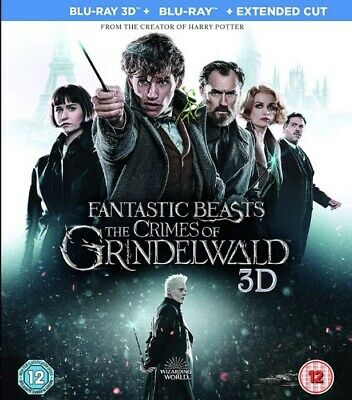 Fantastic Beasts The Crimes of Grindelwald 3D Blu-ray Region Free Best Deal