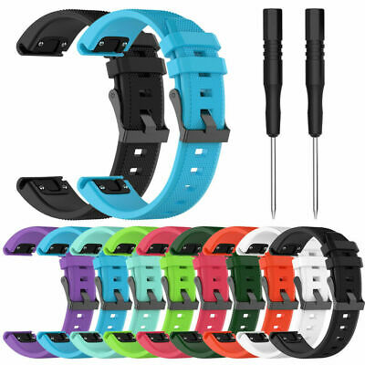 Rubber Strap For Garmin Fenix 5/5Plus/S60/ Forerunner 935 replacement band 22mm