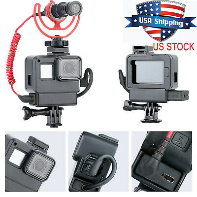 Anti-scratch Protective Shell Camera Housing Case Cover For GoPro Hero 7 6 5#USA