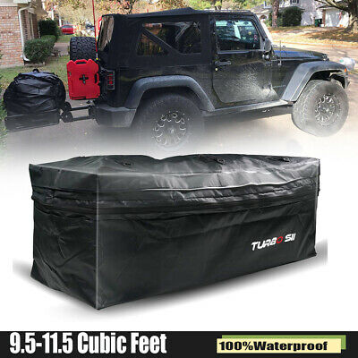 For Car Cargo Luggage Carrier Bag Storage Hitch Mount Waterproof Travel 20 Cu.Ft