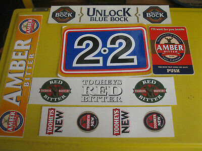 Mixed Lot Of Tooheys Beer Stickers