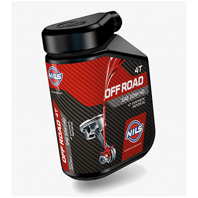 Olio Motore Nils For Race 4T Sae 10 W-40 1 Lt
