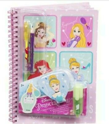 Disney princess diary and accessories