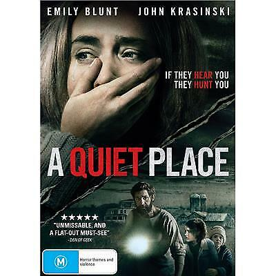 A Quiet Place DVD 2018 M / $5 DVD's - 5 Days Only!