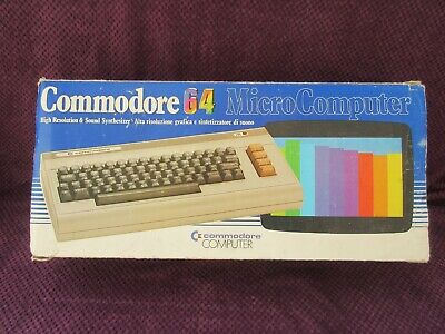 Commodore 64 Mk1 Box - Free UK P&P