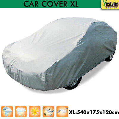 Universal Full Car Cover Sun UV Resistant Anti-Scratch Dust Protection Size XL