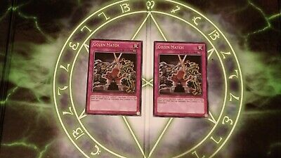 Rare Yugioh Gozen Match TU08-EN011 Near Mint Unlimited