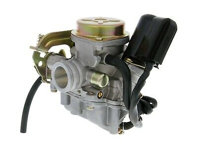 Peugeot V-Clic 50cc Carburettor with Metal Cover