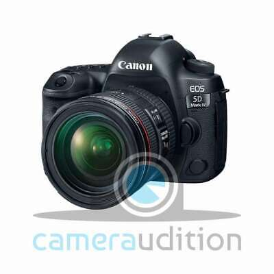 Genuino Canon EOS 5D Mark IV DSLR Camera + EF 24-70mm f/4L IS USM Lens