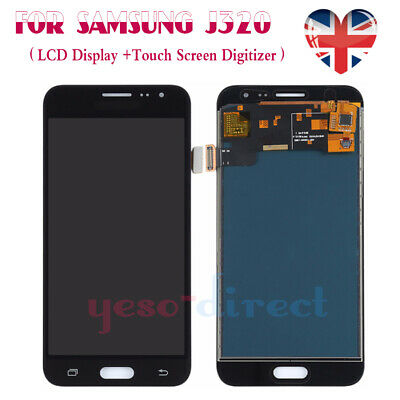 For Samsung Galaxy J3 SM-J320FN 2016 LCD Screen Touch Display Replacement Black