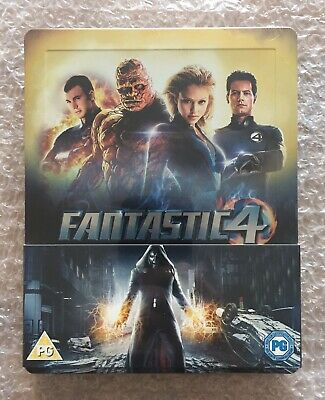 Fantastic Four Blu-ray Steelbook - UK Zavvi Exclusive (New & Sealed)