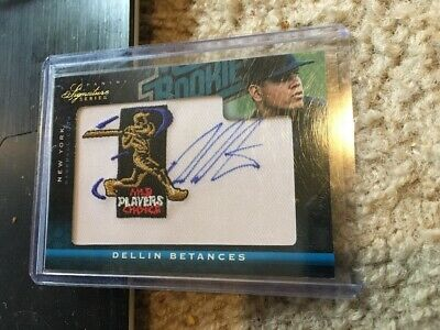 2012 Panini Signature Series Dellin Betances Yankees RC On Card Auto 244/299