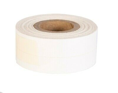 CARE 4 BOOKS WHITE CLOTH GUMMED PERFORATED SPLIT HINGING LINEN TAPE 25mm x 7.6m