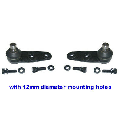 Pair of Lower Ball Joints for RENAULT CLIO MK 2 - from 1998 to 2009