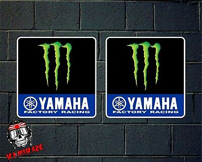 Sticker Autocollant Adesivi Aufkleber Decal X2 Yamaha Monster 2019 Motogp Rossi