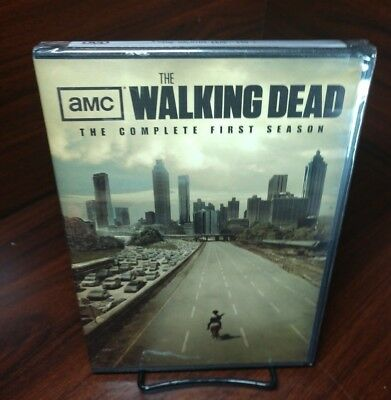 Walking Dead: The Complete First Season (DVD, 2011, 2-Disc Set)NEW-Free Shipping