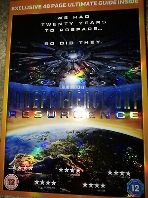 Independence Day Resurgence (DVD) with Sainsbury's Exclusive Ultimate Guide