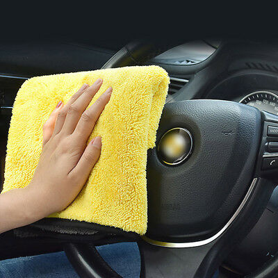 Natural Shammy Chamois Leather Car House Cleaning Towels Drying Washing Clothcb