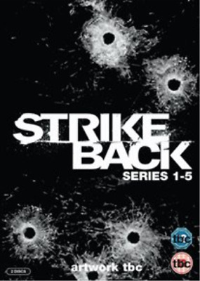 Richard Armitage, Sullivan ...-Strike Back: Series 1-5 (UK IMPORT) DVD NEW