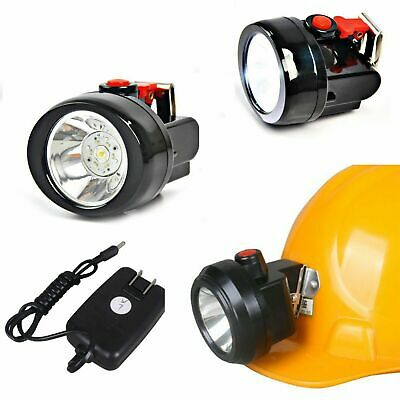 3W 15000lux White LED Miner Head Light Mining Hunting Fishing Hiking Torch Lamp