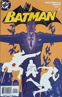 Batman #625 - Signed by Azzarello - DC Comics (NM)