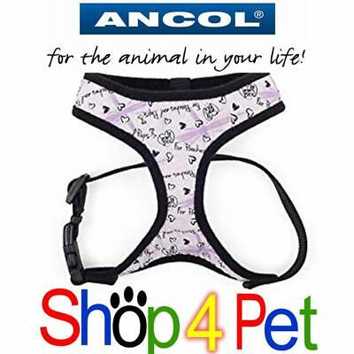 Dog Puppy Harness Ancol Comfortable Mesh Breathable 3 Sizes