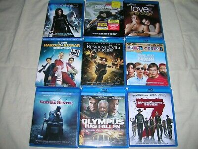 Blu-Ray Lot: Pick ANY 3 for $12 - Free Shipping