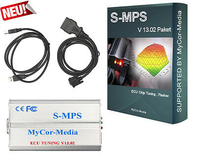 Chip Tuning Flasher Chiptuning OBD2 SMPS MPPS V.13.02 USB CAN EDC17 EDC16 MED9.X