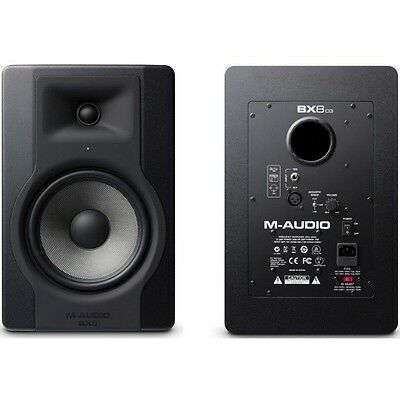 M-AUDIO BX8-D3 Active 300w Total Nearfield Reference Studio Monitors