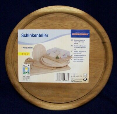 Restaurant Equipment Bar Supplies NEW SCHINKENTELLER WOOD CUTTING BOARD CHOPPING