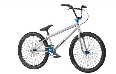 "2019 We the People Atlas 24 CRUISER Complete BMX Bike 24"" Bright Silver 21.75"