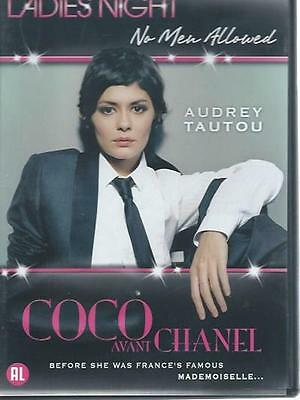 DVD - COCO avant CHANEL - AUDREY TAUTOU - LADIES NIGHT NO MEN ALLOWED