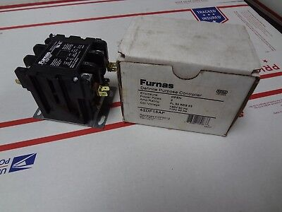 Furnas 42Df15Af Definite Purpose Controller Contactor 120V Coil 50A Cdp5012 New