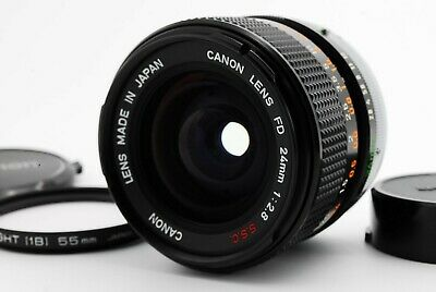 【MINT++】 Canon FD 24mm F2.8 S.S.C Wide Angle Lens SSC From Japan