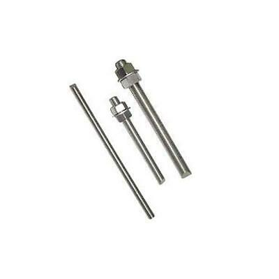 "5/8-11 x 30"" 18-8 Stainless Steel All Thread Cut Threaded Rod (2 Pack)"