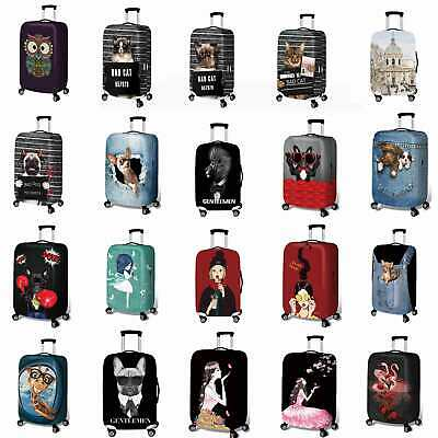 """18""""- 32"""" Travel Luggage Cover Protector Elastic Anti-scratch Suitcase Cover Dust"""