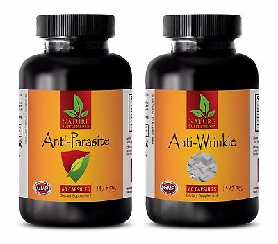 Parasite and worm cleanse - ANTI PARASITE - ANTI WRINKLE COMBO 2B - coenzyme