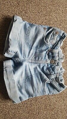 Girls 12-18 months Next Denim Shorts