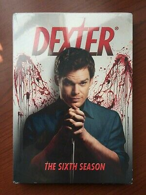 Dexter: The Sixth Season (DVD, 2012, 4-Disc Set) New - Sealed - Free Shipping