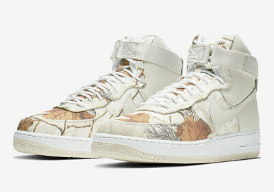 2019 NIKE AIR Force 1 High '07 LV8 Realtree White Camo AF1