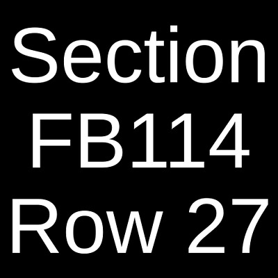 3 Tickets Paul McCartney 6/22/19 Petco Park San Diego, CA